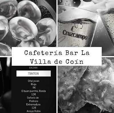 Anagrama de Cafetería Bar La Villa