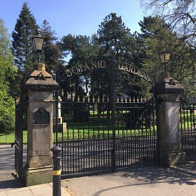 Lord Kelvin Botanic Gardens Belfast