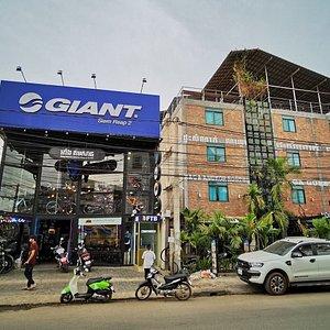 Aing Kimsan Bicycle Shop and Rental Giant Siem Reap 2 Bike Hire