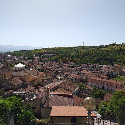 Borgo di Pescina dalla tomba di Ignazio Silone