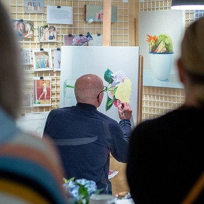 Visit Open Studio for insights into the creative practice of five contemporary Australian artists. Free at QAG