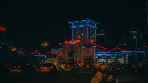 This is Ben Thanh Market