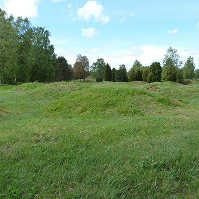 Kånna Gravhögar utanför Ljungby
