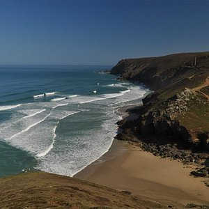 View over Chapel Porth
