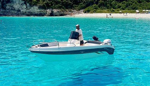 speedy 550  @voutoumi beach antipaxos