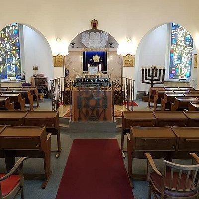 Innenraum der Würzburger Synagoge