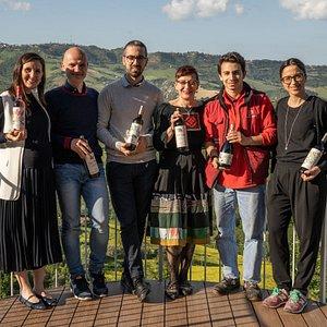 """Tenuta Cocci Grifoni Team on new PATIO """"I CALANCHI"""""""