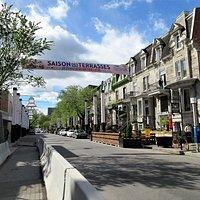 rue Saint-Denis, Quartier Latin
