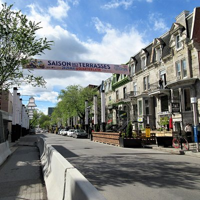 rue Saint-Denis, Quartier Latin
