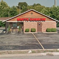 Whitt's Barbecue Harding Rd. location, front of building. We have walk up and drive thru service.