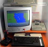 Atari 800XL + River Raid