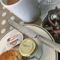 Tea room cream tea