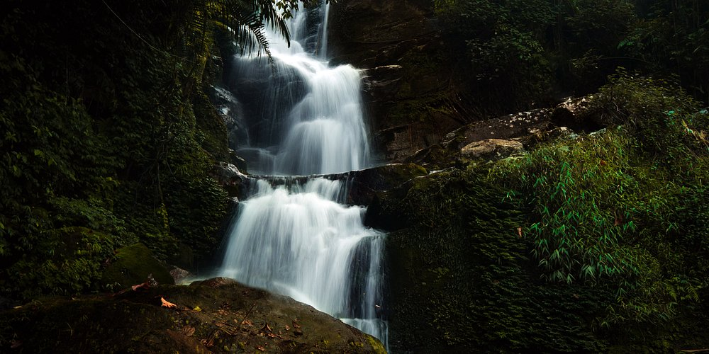 Waterfalls at Mankulam is the best of all .  11 indegenious waterfalls of which aanayadikuth waterfall as seen in the phot is the best of all.