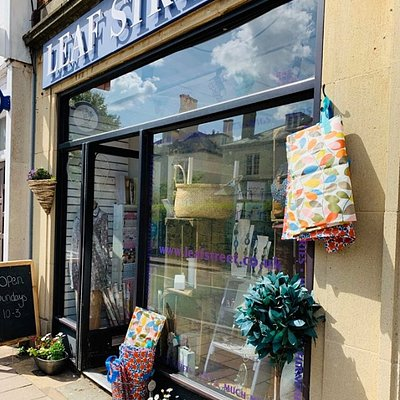 Situated on a fantastic independent shopping street Leaf Street offers carefully selected Jewellery collections ,gifts ,home ware ,clothing,cards and so much more ,and in our basement a whole floor of selected Once Loved Clothing