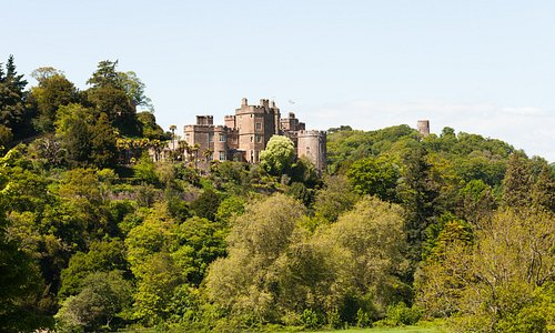 The castle as seen from the Deer Park