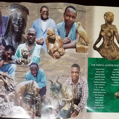 AFRICAN SCULPTURE by Shona Master Fine Artists of Zimbabwe