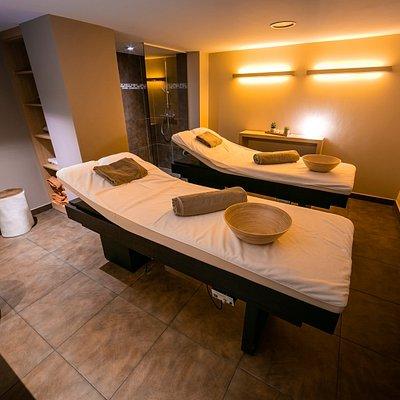 L'espace duo pouvant accueillir deux personnes pour un moment d'évasion en couple ou entre amis.