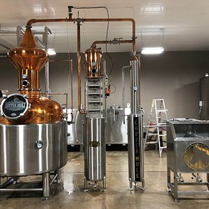 Cool distilling equipment.