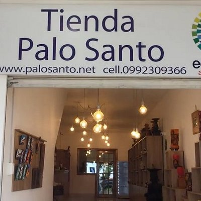 This is tienda PaloSanto.  It seems that they renovated the store (tienda) with many new products.  it is simply great