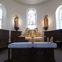 Eglise St-Etienne à Osenbach (choeur avec maître-autel)