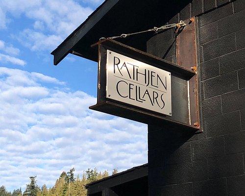 Rathjen Cellars sign
