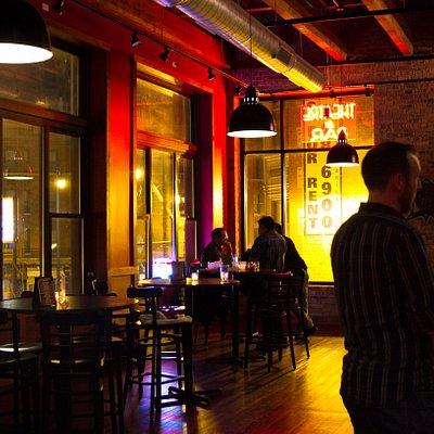 Annoyance Bar at night