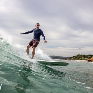 Beautiful, mellow long board waves
