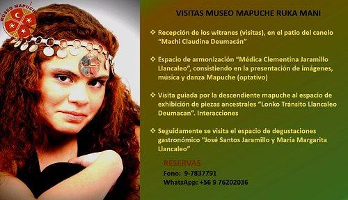 Visitas al Museo Mapuche Ruka Mani