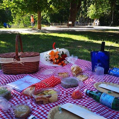 Platos del picnic