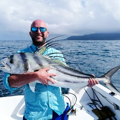 Roosterfish on our Inshore Fishing trips..