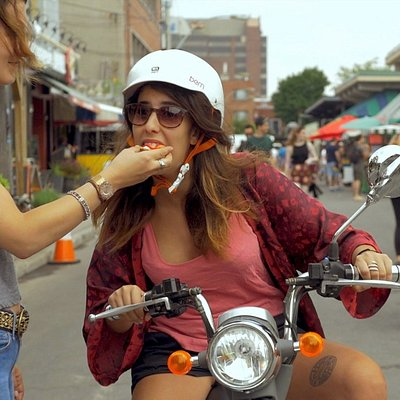 A Taste of Montréal's Street Food AND Scooter Sightseeing...