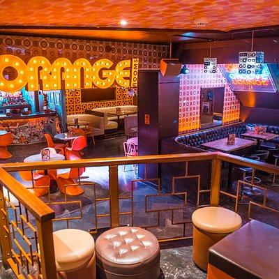Orange Rooms main area