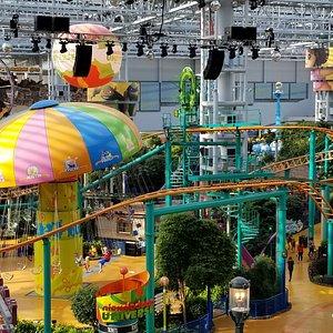 Amusement Park in the senter