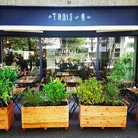 La terrasse du restaurant est officiellement ouverte ; )