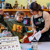 MAKESHOP has all sorts of crafts and activities for the creative young mind.