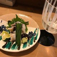 地酒・梵と旬のトリ貝