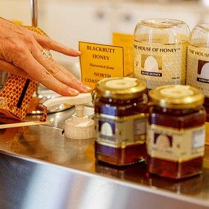 The Honey Tasting Station