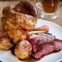 Superb Sunday roast!