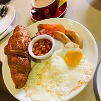 豐盛美味的早餐。