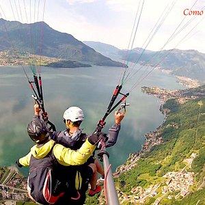 paragliding panorama view !
