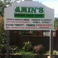 Amin's Indian Takeaway