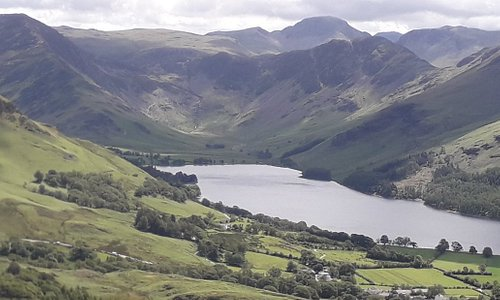 View of Buttermere from Rannerdale Knotts