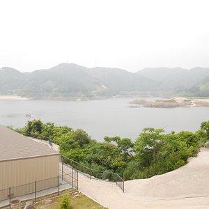 五ヶ山ダム風景