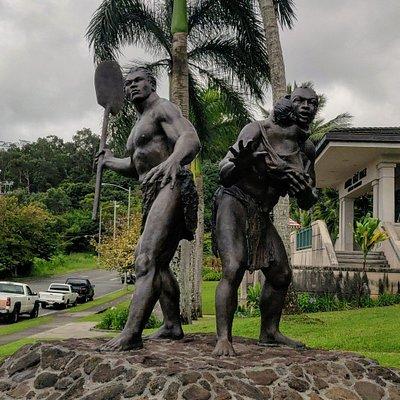 Mamalahoe Statue