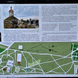 Tablica informacyjna Parku Miejskiego w Tarnowskich Górach