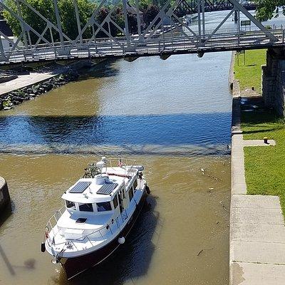 Locks at Canal