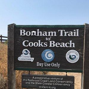 Bonham Trail to Cooks Beach