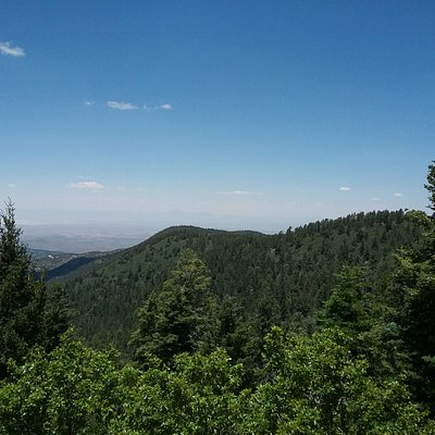 View of the Tularosa Basin
