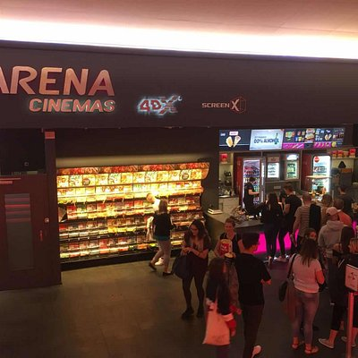 ScreenX Theater located in Arena Cinemas Sihlcity