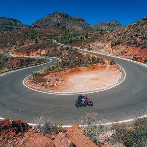 Fataga corner! The best riding ever!